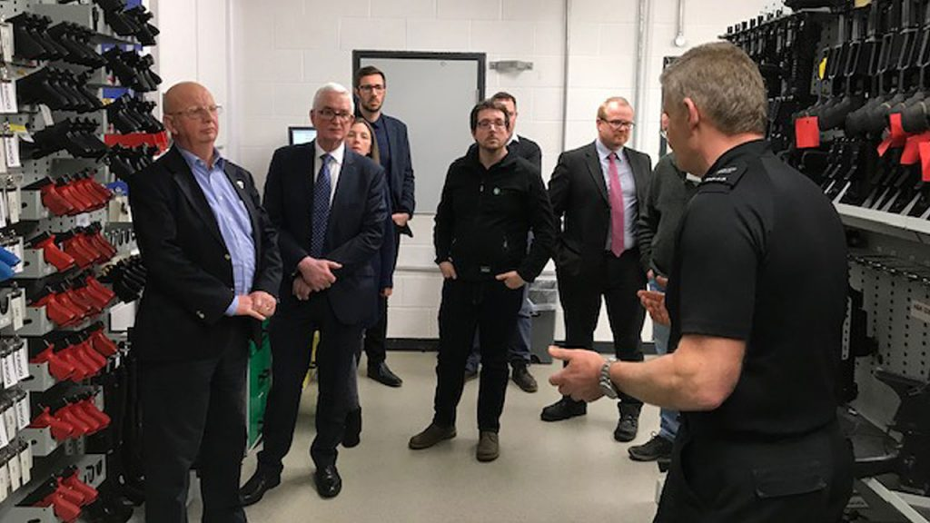 EPS Delegates Given Tour Of Black Rock Firearms Training Centre