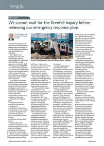 Grenfell Tower Fire LGC Article Image